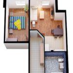 Стоимость натяжных потолков в однокомнатной квартире в Краснодаре