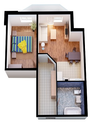 Глянцевые белые натяжные потолки 40-кв