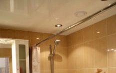 Стоимость натяжных потолков в ванной в Краснодаре